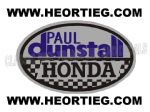 Paul Dunstall Honda Tank and Fairing Transfer Decal DDUN5-4